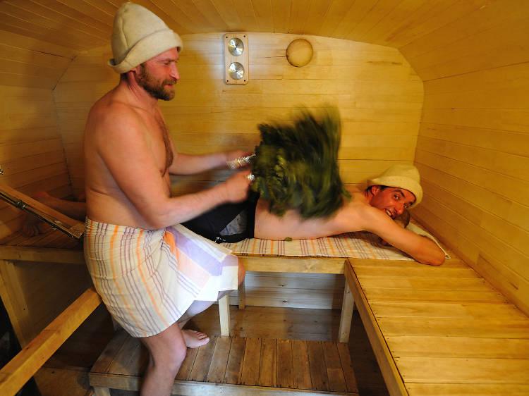 Russian Bath Experience
