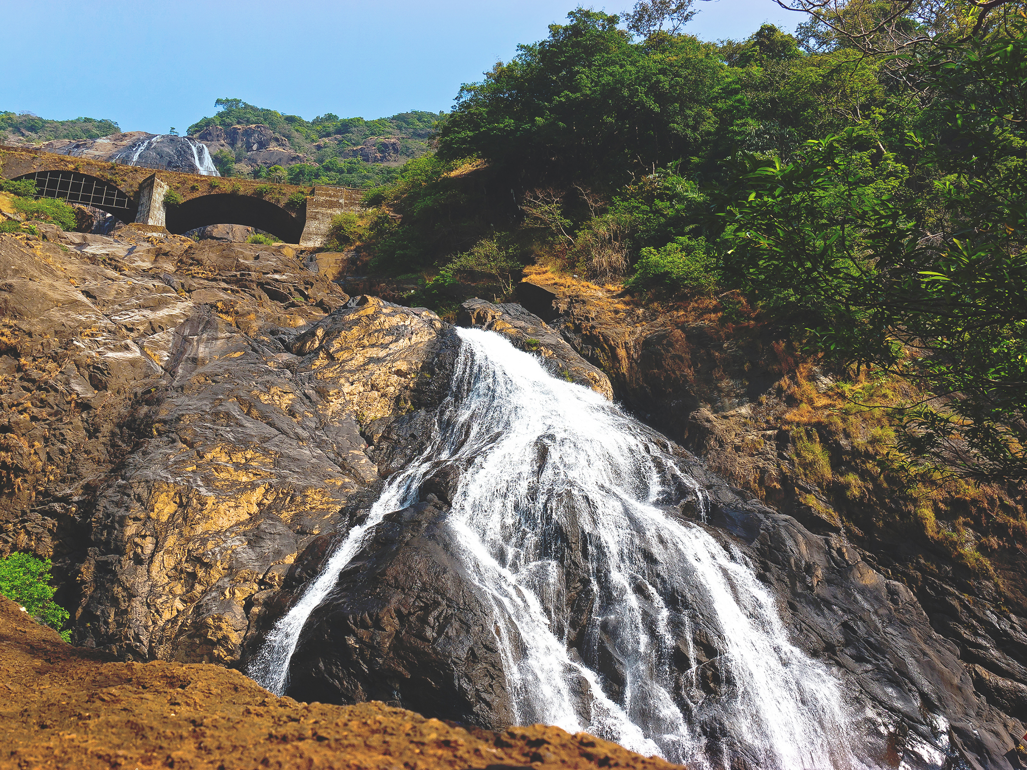 Dudhsagar Falls, things to do in Goa, India