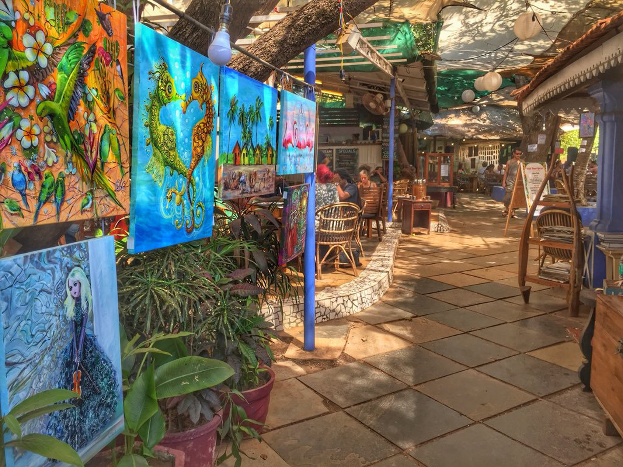 Artjuna Garden Cafe and Lifestyle Shop, things to do in Goa, India