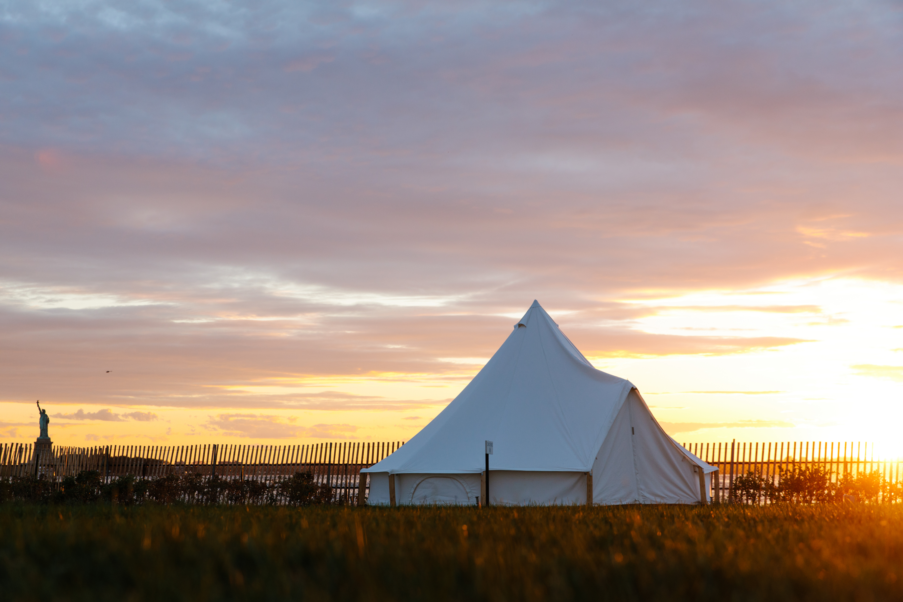 We answer all your questions about the new 'glamping' on Governors Island