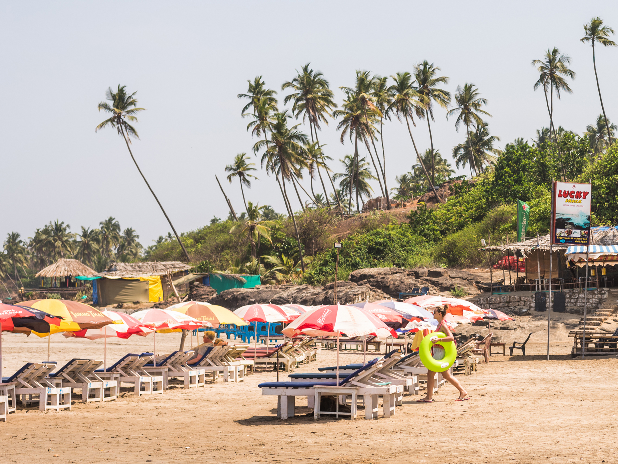 Vagator Beach, things to do in Goa, India