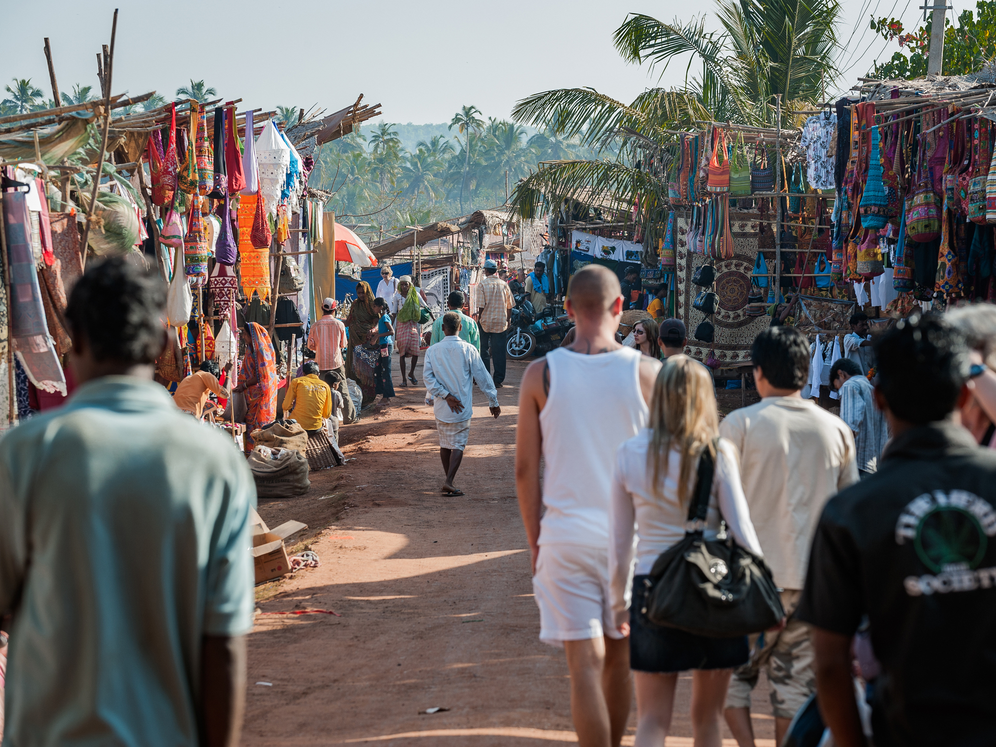 Anjuna Flea Market, things to do in Goa, India