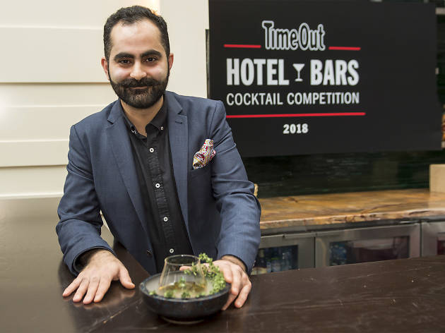Behzad Nvaziri at Time Out Hotel Bars Cocktail Competition 2018