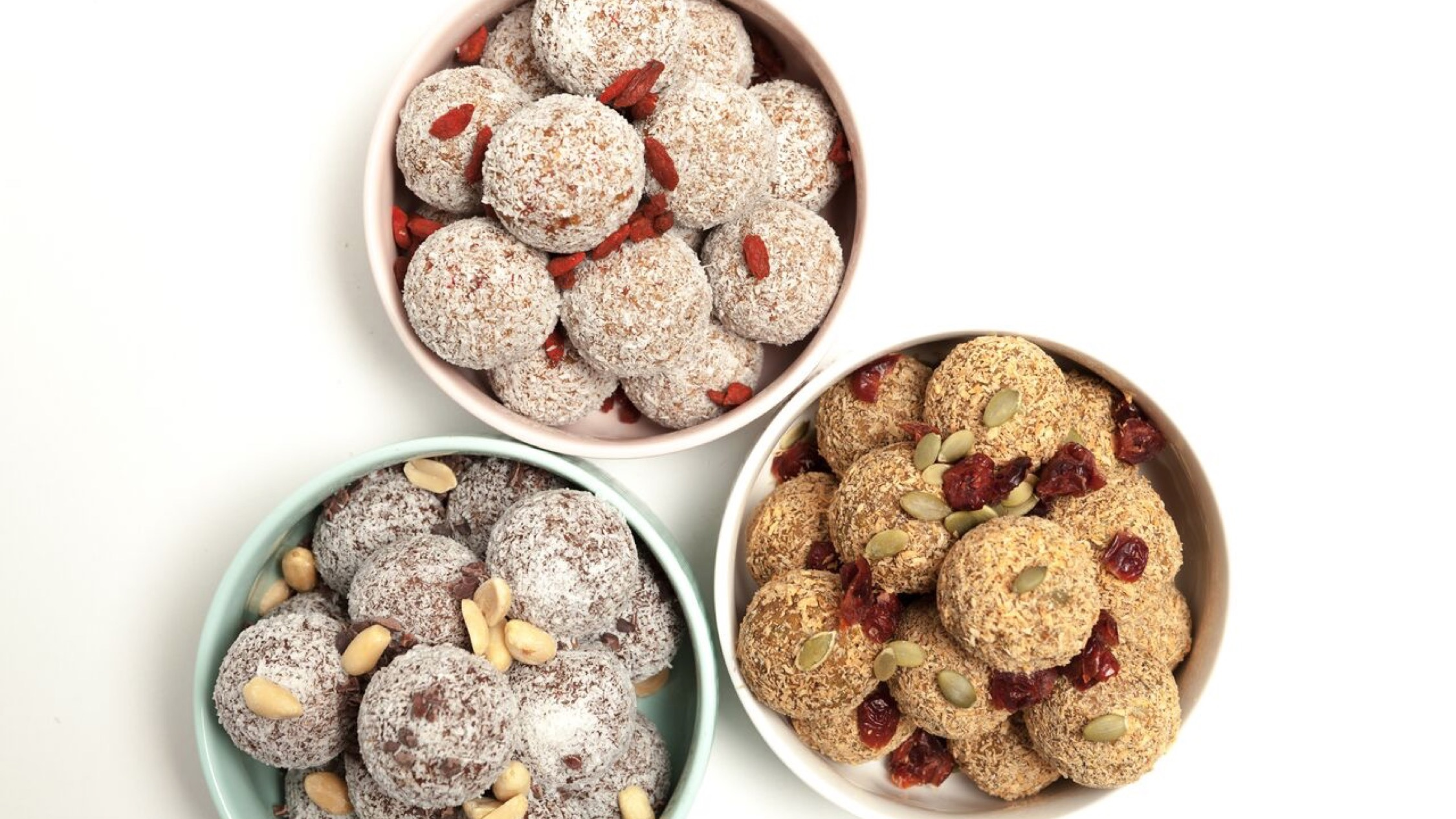 The Health Enthusiast Bliss Balls