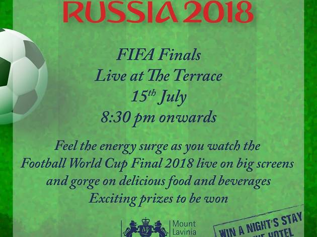 FIFA Finals Live at The Terrace