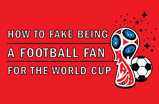 Fake football fan