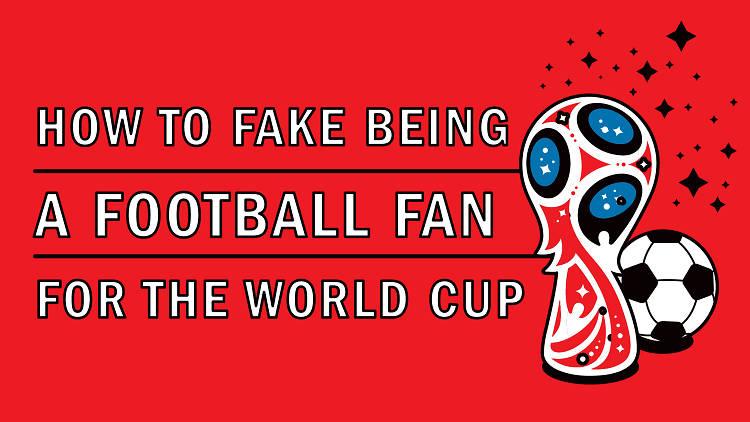 Fake football fan