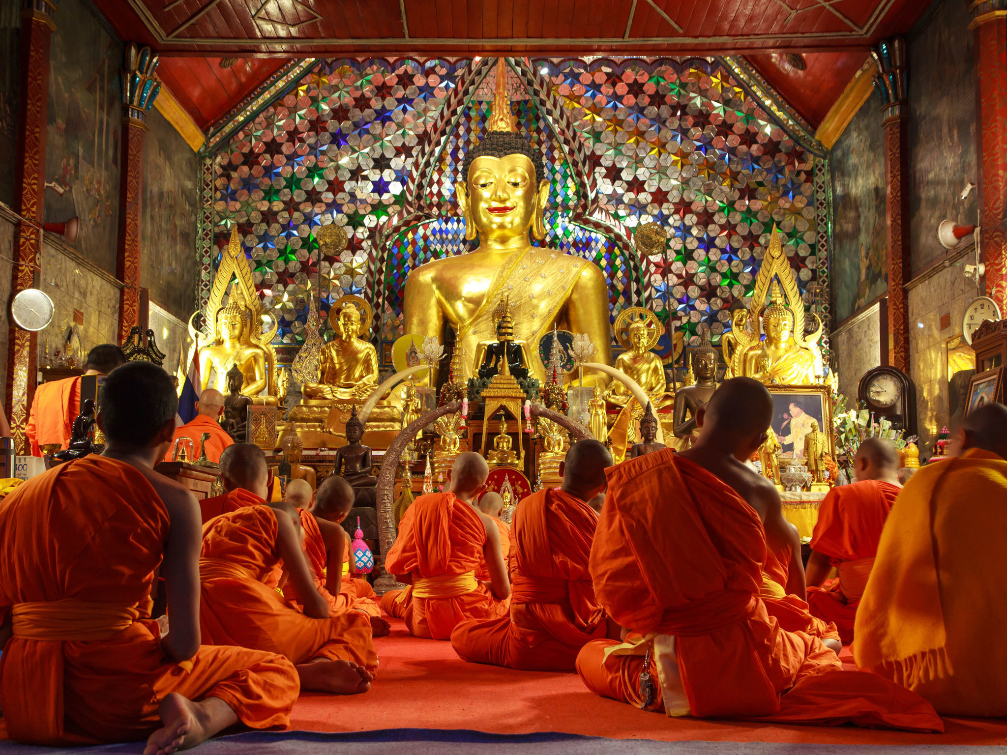 Monk Chat at Wat Phra That Doi Suthep - Chiang Mai - Thailand