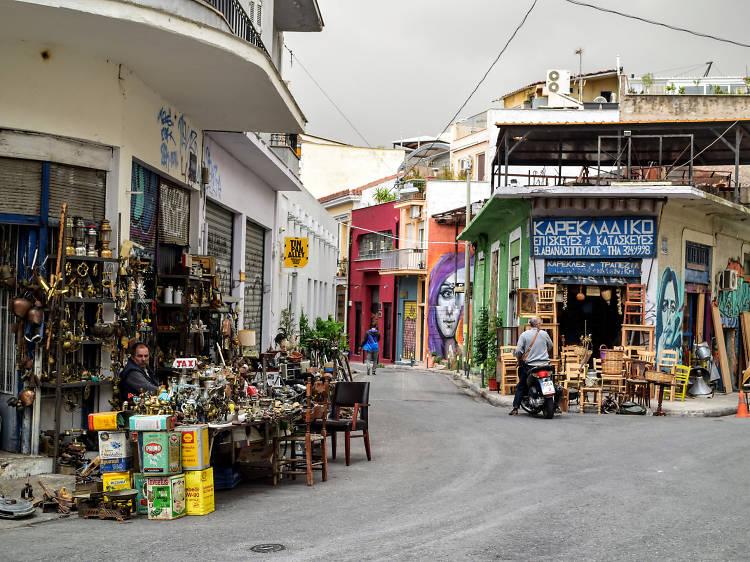 Monastiraki Neighbourhood