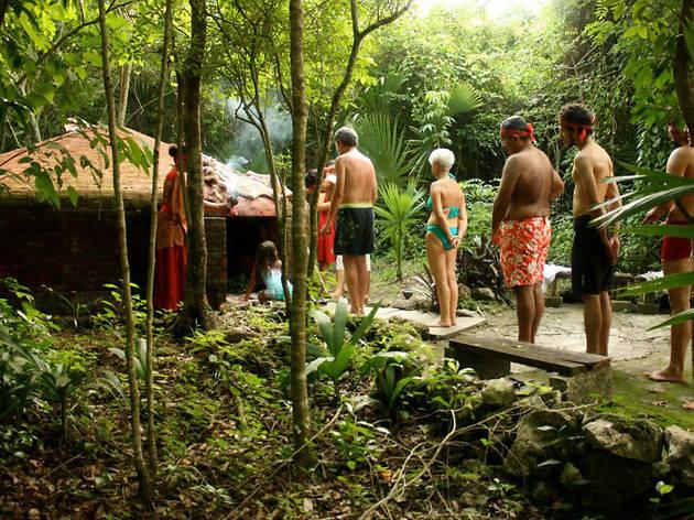 Temazcal Cozumel Mayan Steam Lodge - Mexico