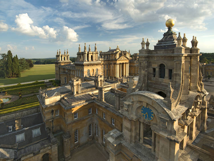 Marvel at baroque country pile Blenheim Palace