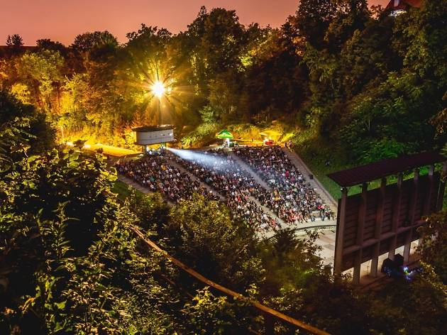 Outdoor Cinema at Tuškanac Summer Stage