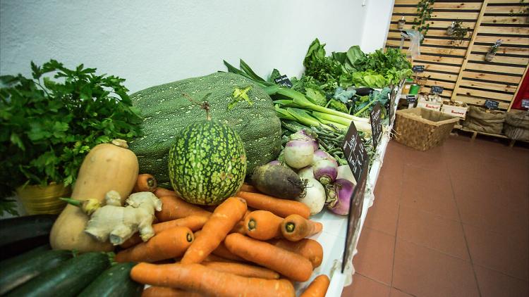 Frutas e legumes