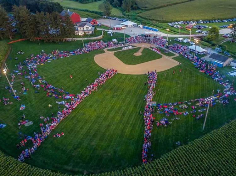 Iowa: Recreate that last scene in Field of Dreams