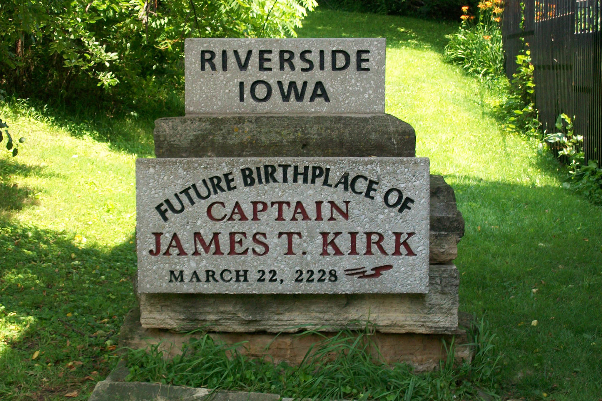 Future Birthplace of Captain James T. Kirk