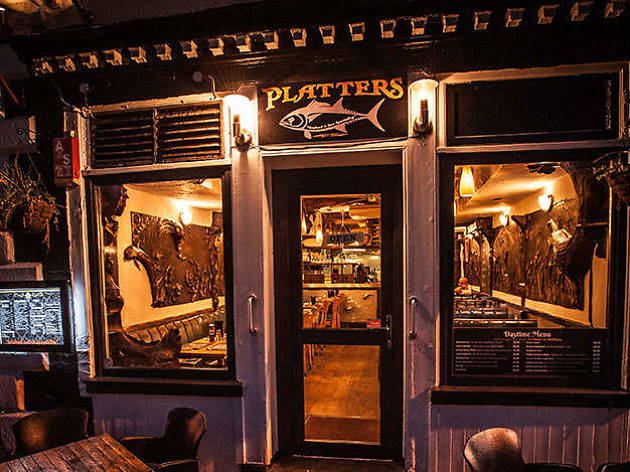 Platters restaurant, Plymouth