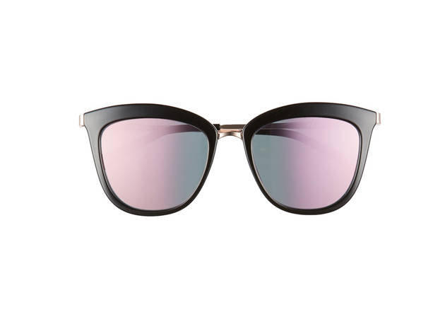 ab28fcfb7c9c Le Specs Caliente 53mm Cat Eye Sunglasses
