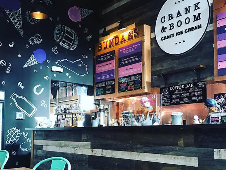 Crank & Boom Ice Cream Lounge