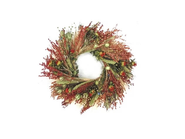 Joss & Main Fall Grasslands Wreath