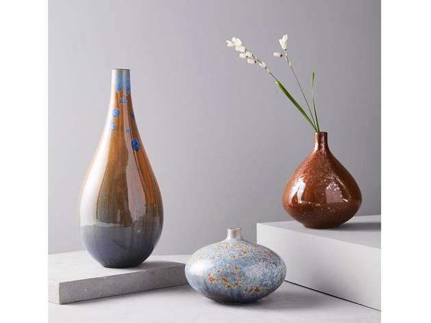 Crystalline Glaze Vases
