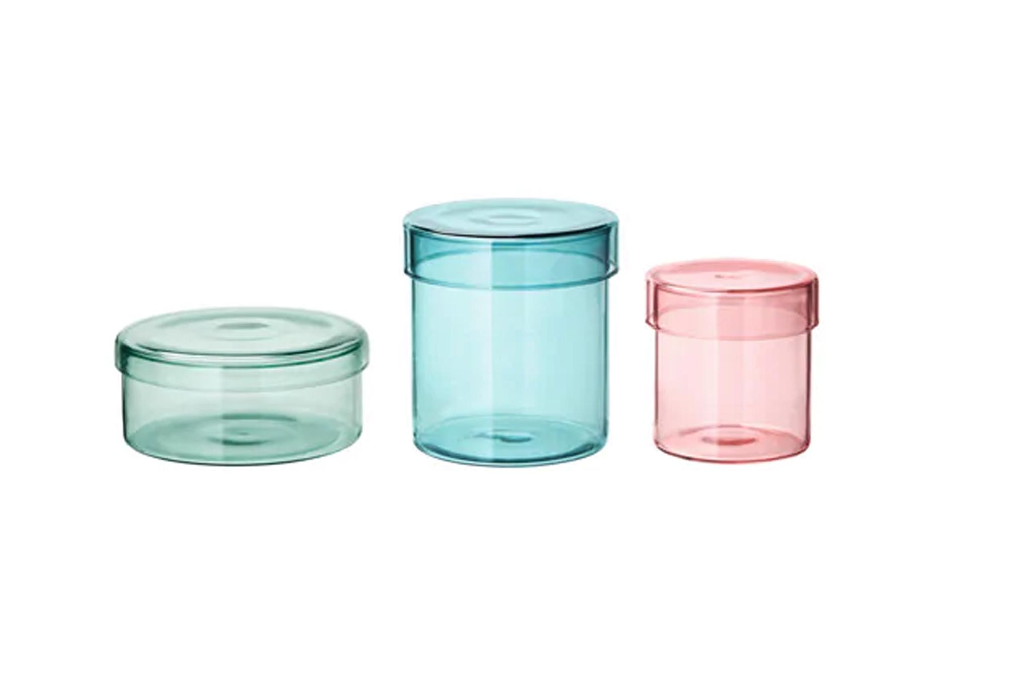 Samordna glass jars
