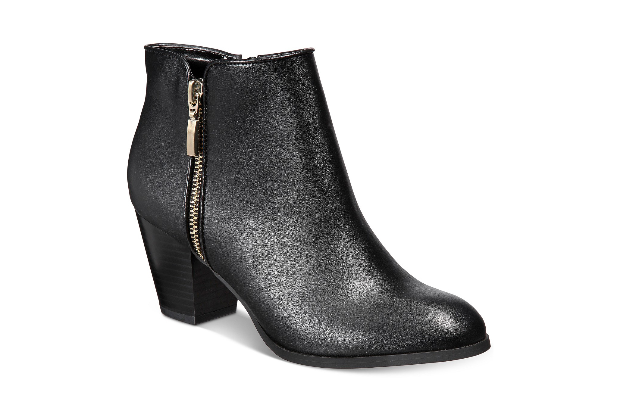 Style & Co Jamila Zip Booties