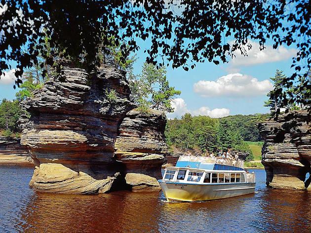 Upper Dells Boat Tour, eitw