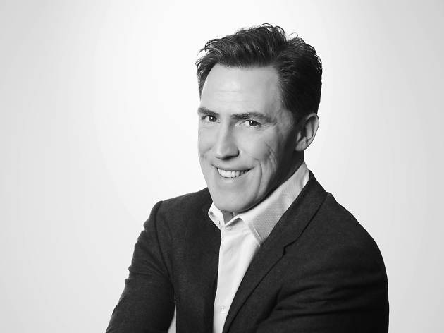 Would we lie to you? Rob Brydon is touring Australia at last