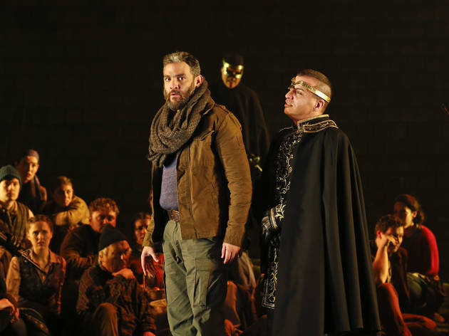 (Armando Noguera and Paolo Pecchioli in Victorian Opera's 'William Tell', photograph: Jeff Busby)