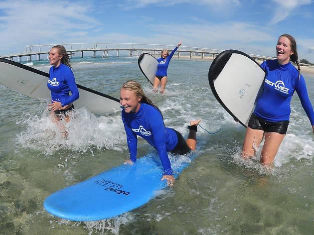 Surf lesson, eitw
