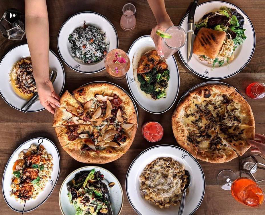 Catania Italian food in La Jolla