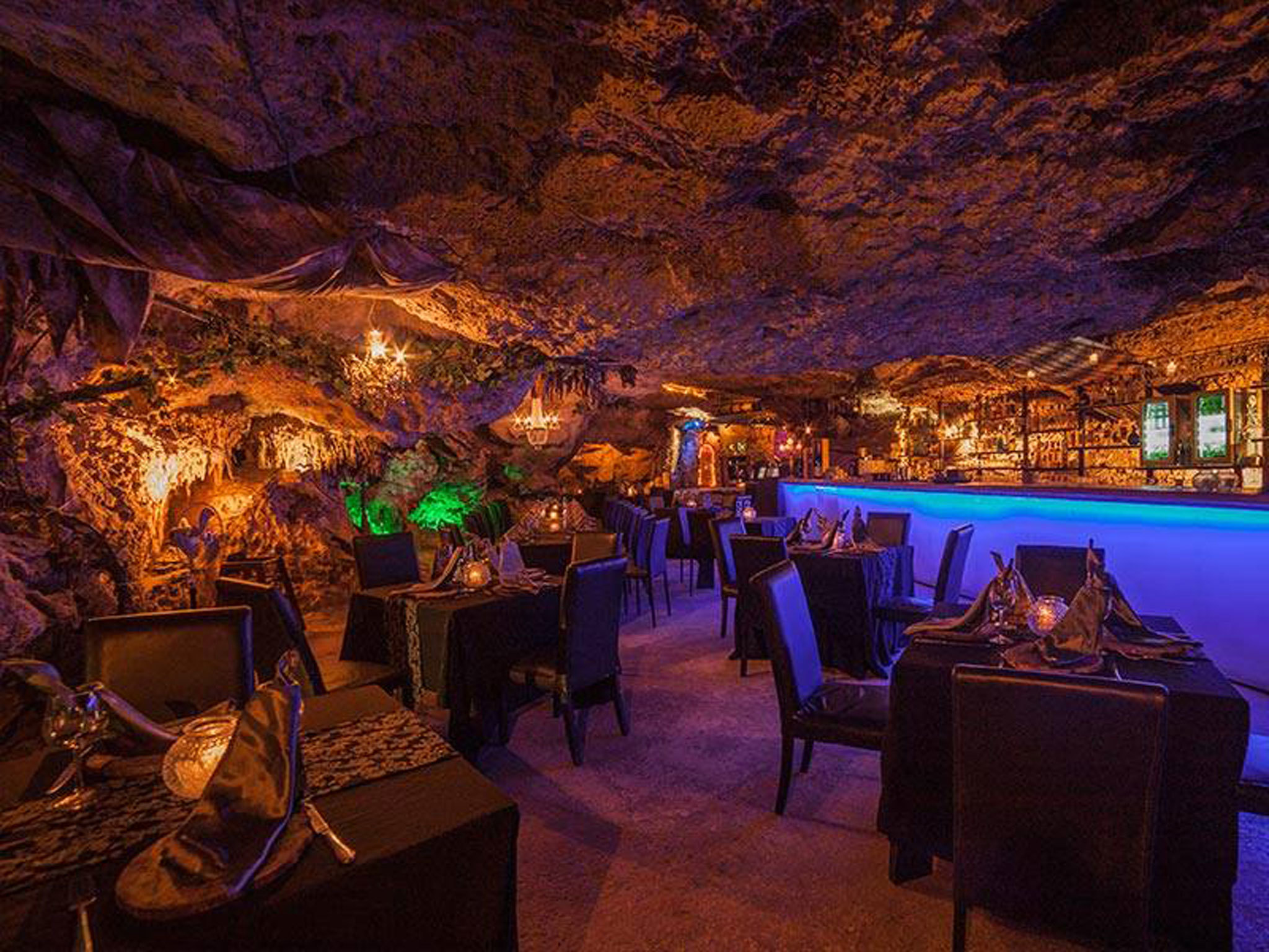 Alux Restaurant - Playa Del Carmen - Mexico