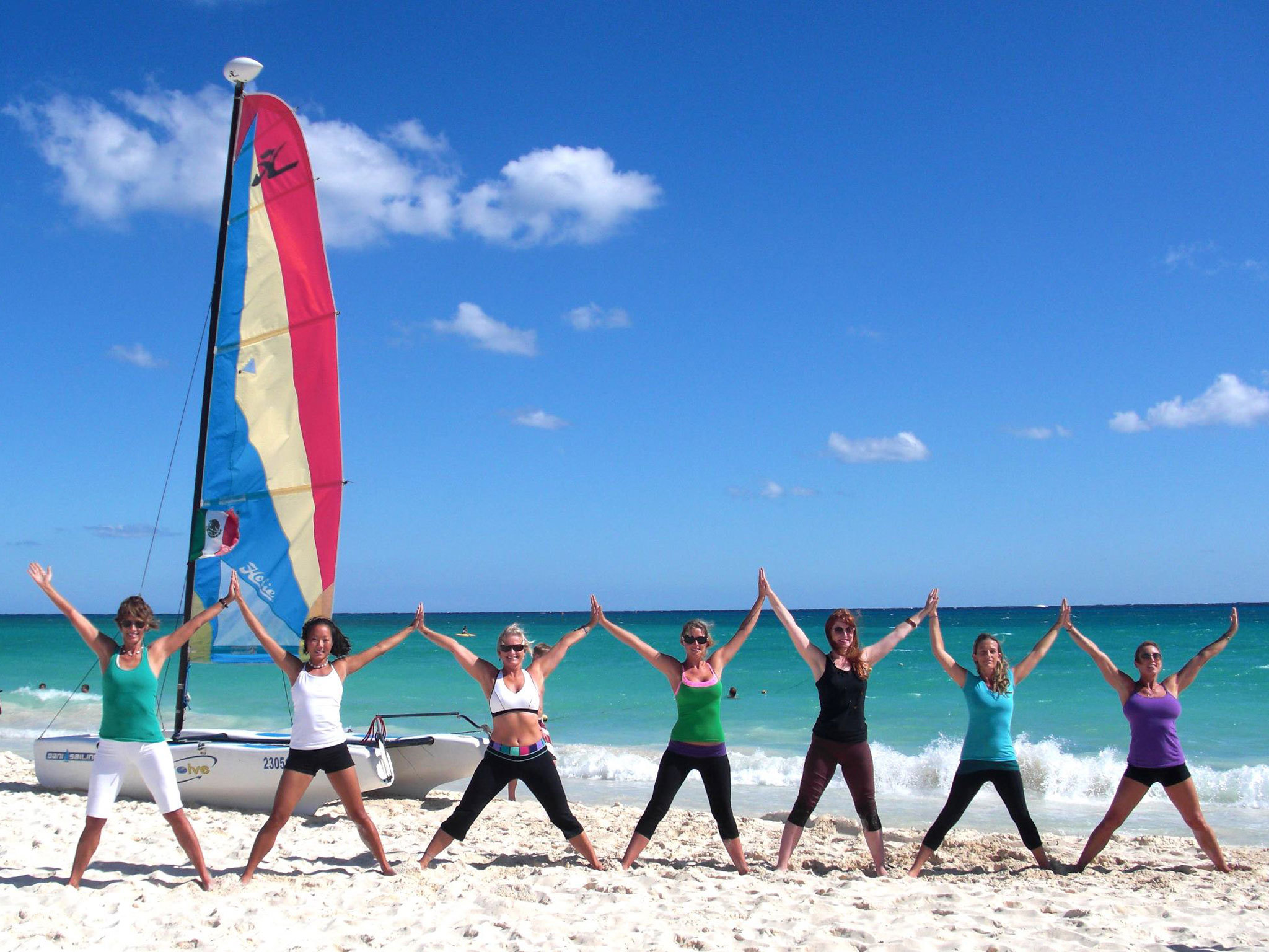 Yoga By The Sea - Playa Del Carmen - Mexico