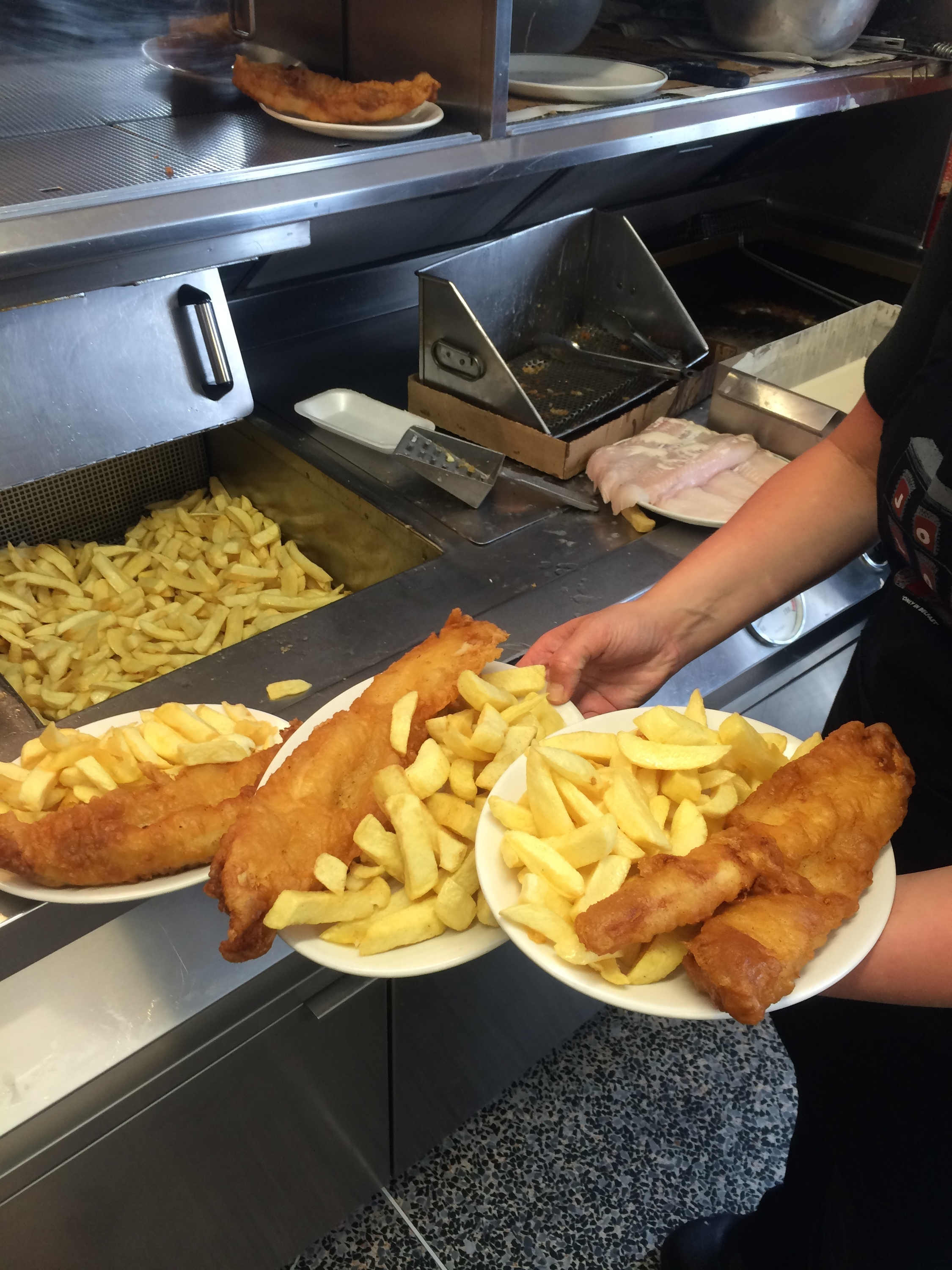 John Long's fish and chips, Belfast