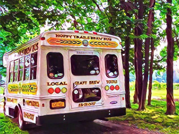 Hoppy Trails Brew Bus - Lake George - US