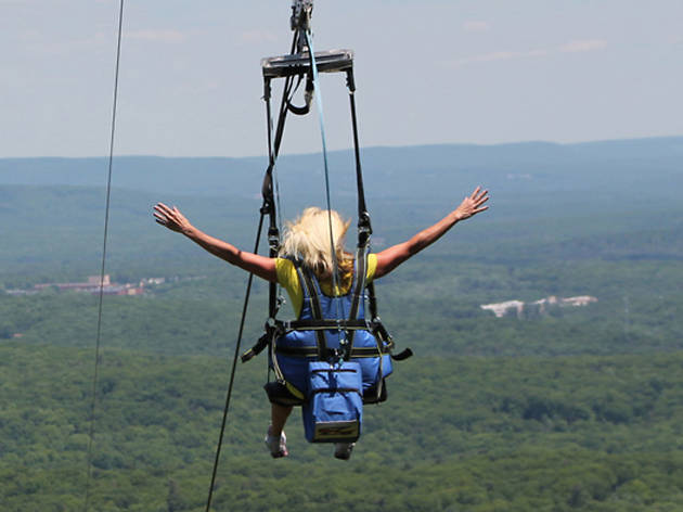 Eagle Flyer Zipline - Lake George - US