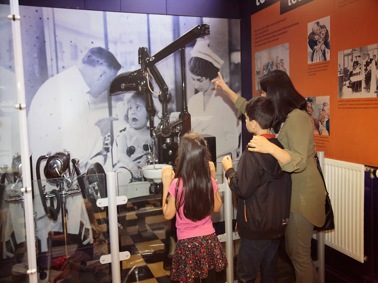 Immerse yourself in history at The Thackray Medical Museum