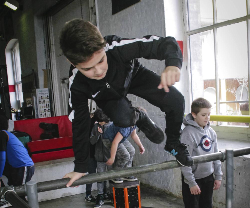 London Chainstore Parkour Academy