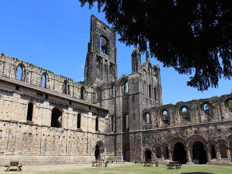 Wander around the ruins of Kirkstall Abbey