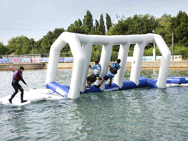 Water Wipeout at Lee Valley White Water Centre
