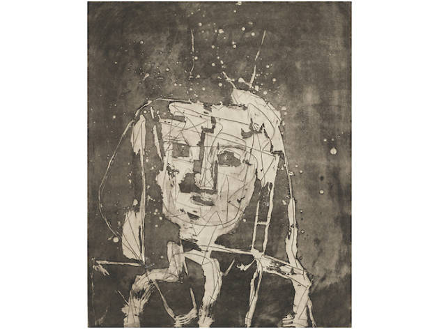 """The Face in the Moon: Drawings and Prints by Louise Nevelson"""