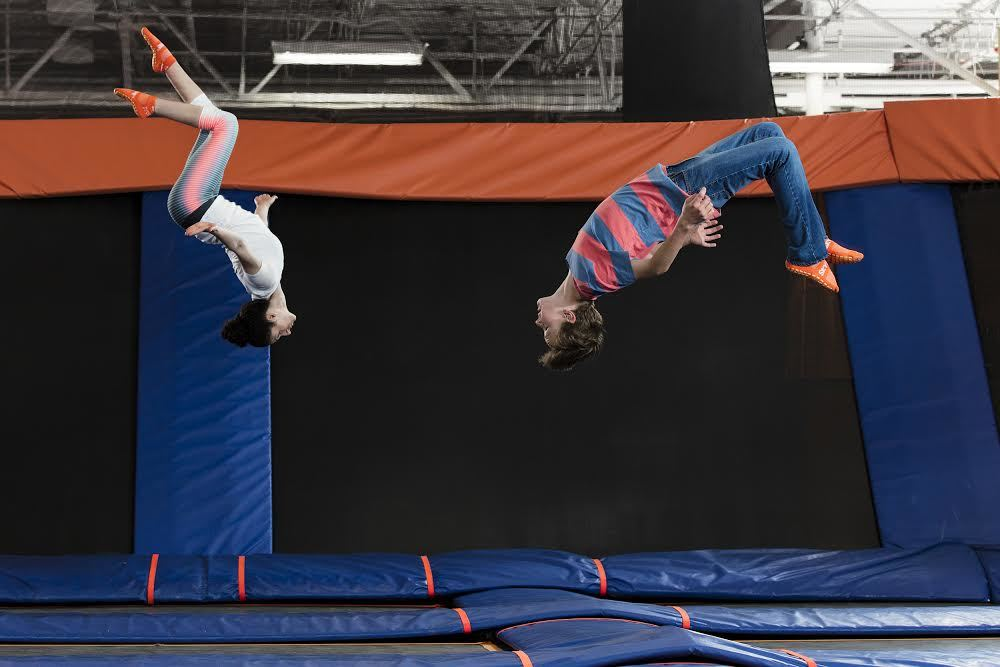 Trampoline parks in NYC (and beyond)