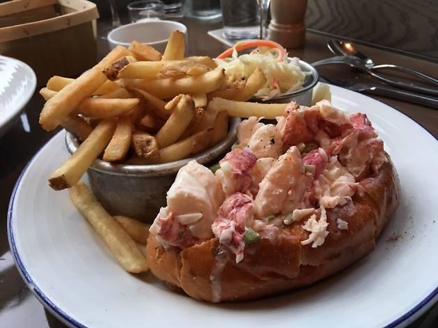Island Creek Oyster Bar lobster roll