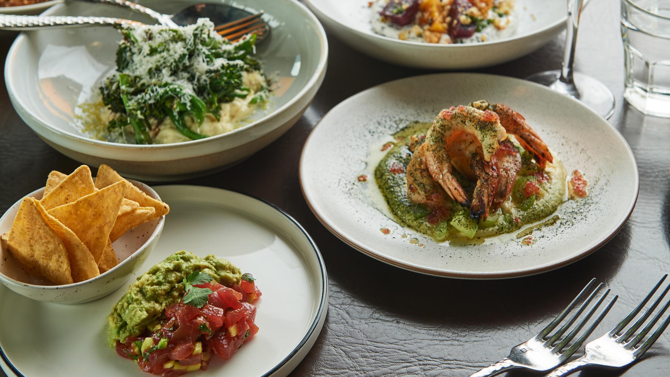 Merrywell food spread