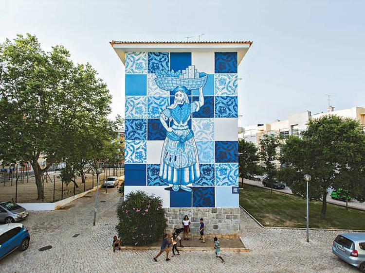 É um centro de arte urbana