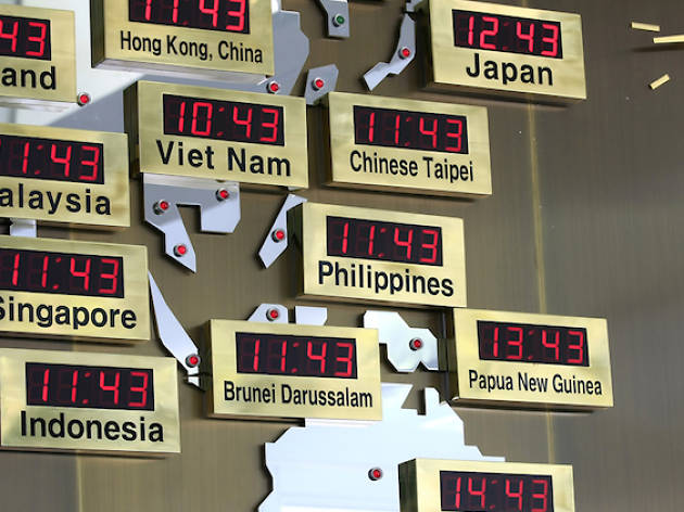 Singapore Clocks