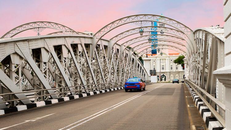 Singapore Anderson Bridge