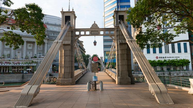 Singapore Cavenagh Bridge