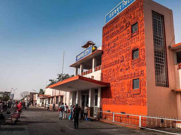 Udaipur City Railway Station