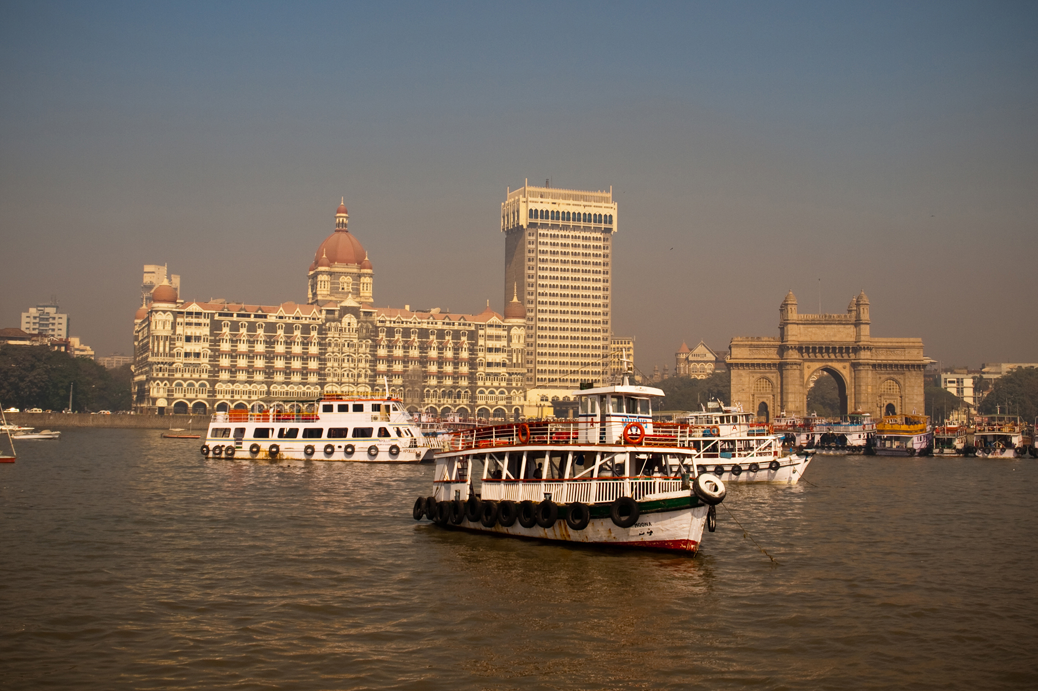 Sailing near the Gateway of India, eitw